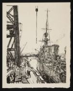BONE, David Muirhead. Ready for Sea (1917)
