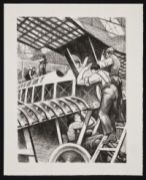NEVINSON, Christopher Richard Wynne. Assembling Parts (1917)