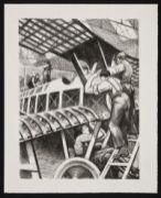 NEVINSON, Christopher Richard Wynne. Assembling Parts (1917)