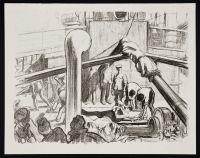 SHEPPERSON, Claude Allin. On Board a Hospital Transport (1917)