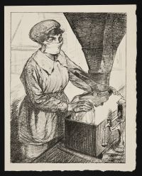 HARTRICK, Archibald Standish. On Munitions: Dangerous Work (Packing T.N.T) (1917)