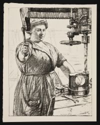 HARTRICK, Archibald Standish. On Munitions: Heavy work (Drilling and casting) (1917)