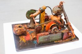 Little Death Machine (Castrated, Ossified). Bronze. 2006. Photograph: Felix Clay