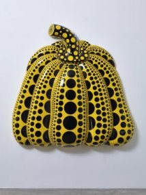 'I Carry on Living with the Pumpkins', 2014. Courtesy Yayoi Kusama Studio Inc, Ota Fine Arts, Tokyo / Singapore and Victoria Miro, London. © Yayoi Kusama