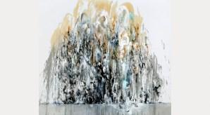 Wall of Water I, 2010© Maggi Hambling, photograph by Douglas Atfield