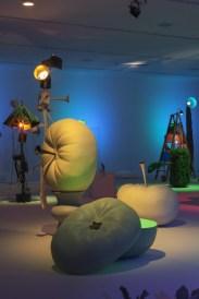 "Geoffrey Farmer. ""Let's Make the Water Turn Black"", 2013, Exhibition view, Migros Museum für Gegenwartskunst, Photo: Lorenzo Pusterla, Courtesy of the artist, Catriona Jeffries Gallery, Vancouver, and Casey Kaplan, New York."