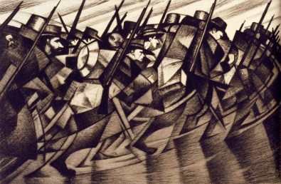 'Returning to the Trenches', c. 1916 ©The Barber Institute of Fine Arts