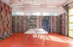 The installation 'the Workshop (2010 - ongoing) 2013' by Ciara Phillips. Picture: Daniel Brooke/The Tate/PA