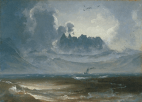 The Mountain Range 'Trolltindene', about 1845. Photograph: Asbjørn Lunde/National Gallery