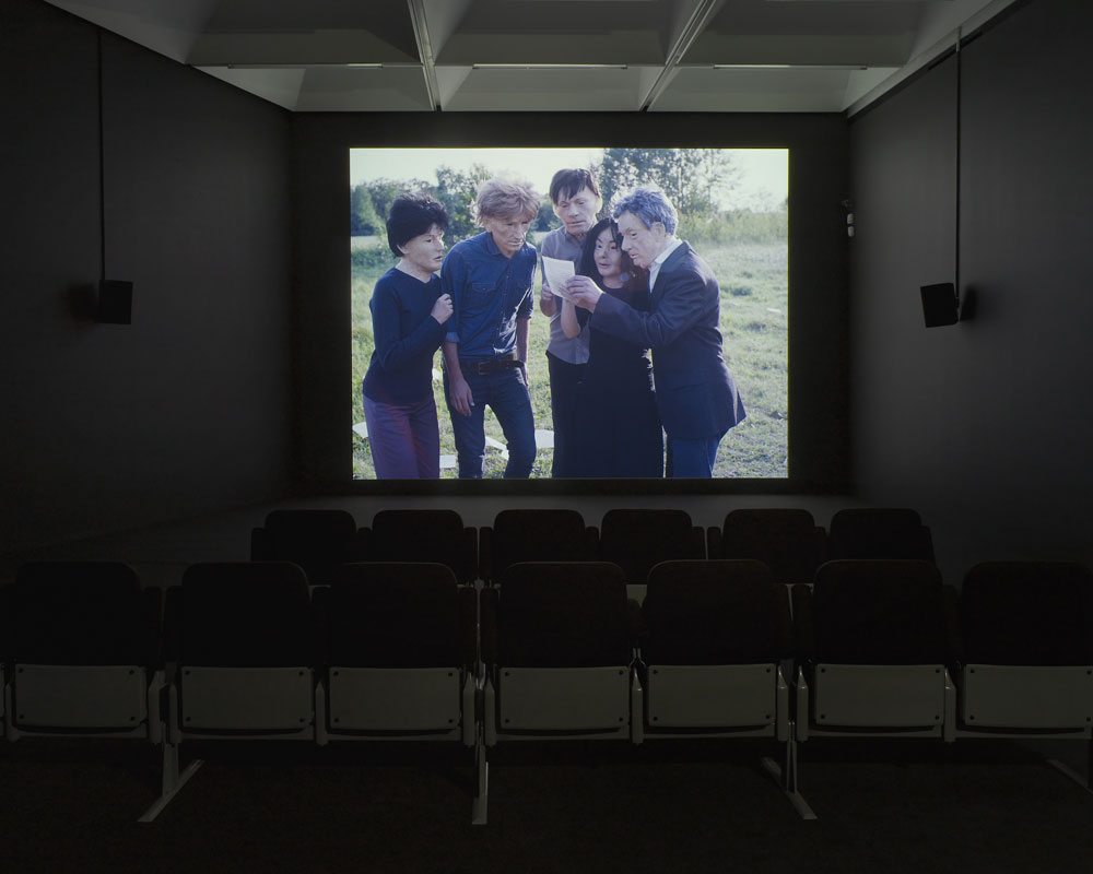 Installation shot of Future Days, 2013. Courtesy of the artist and Galerie Zak, Branicka, Berlin. Photo by Andy Keate