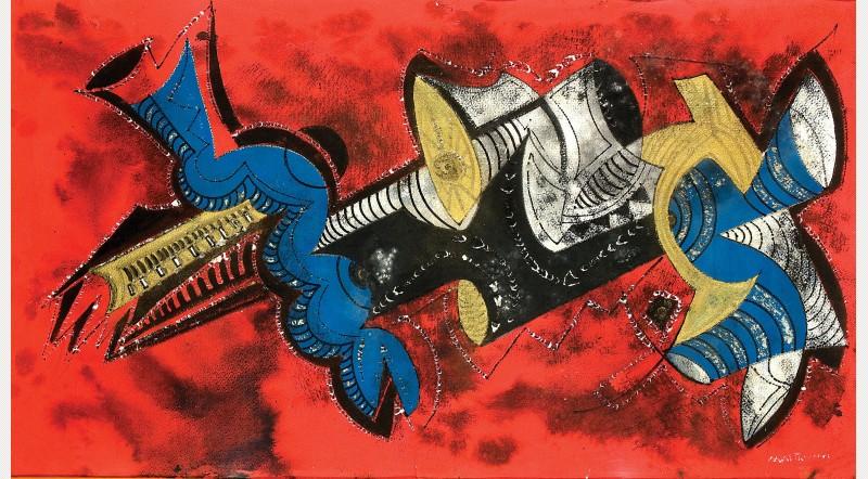 Umberto Mastroianni, Savage Fury, 1975. Courtesy Estorick Collection of Modern Italian Art
