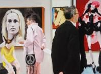 Art Fair: Booth #10 Booty, 2014 Oil on Linen 208.3 x 284.5 cm, 82 x 112 in