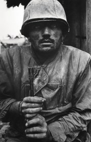 Don McCullin: Shell Shocked US Marine, The Battle of Hue, 1968. Printed 2013. © Don McCullin