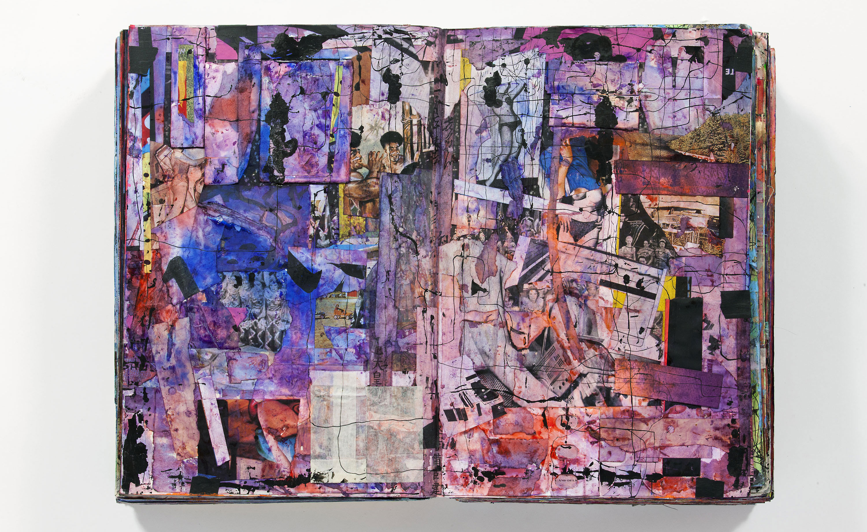 'Scrapbook #66', by Shinro Ohtake, 2010-2012. Courtesy of the artist and Take Ninagawa, Tokyo