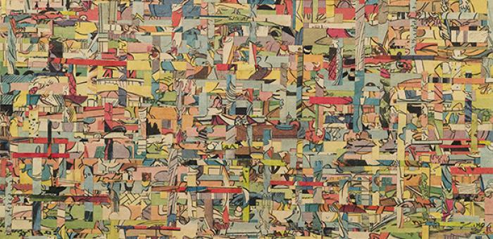 Shinro Ohtake, 'Japanese Comics', 2000. Courtesy of the artist and Take Ninagawa, Tokyo