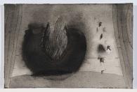 Fire (3), N.D. Watercolour, 12 1/2 x 14 1/4 inches