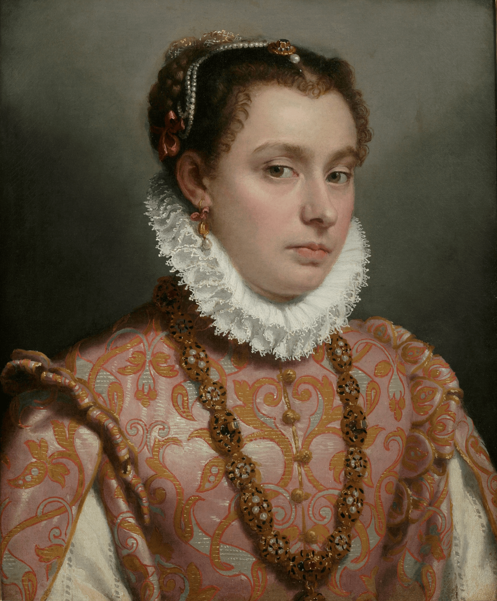 Young Lady, c1560-65. Photograph: Private collection