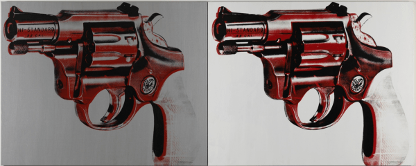 Gun, 1981. Photograph: © 2014 The Andy Warhol Foundation for the Visual Arts, Inc. / Artists Rights Society (ARS), New York and DACS, London