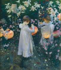Carnation, Lily, Lily, Rose, 1885-6