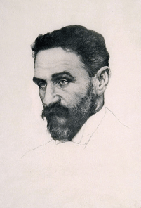 Colm Ó Lochlainn, After Leonhard Fanto (1874–1958), Portrait of Roger Casement, c.1915. Lithograph, 40 x 27.5cm. Crawford Gallery of Art, Cork