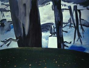 DEXTER DALWOOD Grosvenor Square, 2002, 268 x 347 cm, Saatchi Collection