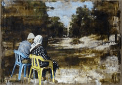 JOHN KEANE Inconvenience of History II, 2003, 86 x 122 cm, Flowers Gallery