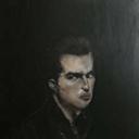 SAM JACKSON Querelle, 2009, 60 x 60 cm, Private Collection