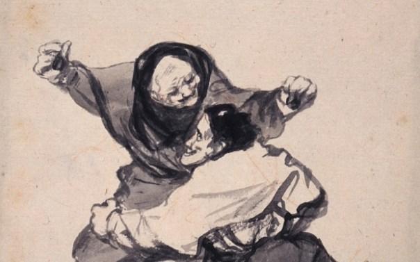 'Regozijo' ('Mirth'), c. 1819-23 (detail)