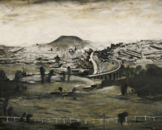 L.S. LOWRY Bargoed, 1965, 122.2 x 151.7 cm, The L.S. Lowry Collection