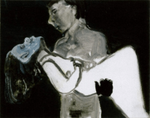 The Image as Burden 1993 Private collection © Marlene Dumas