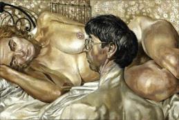 STANLEY SPENCER Self-portrait with Patricia Preece, 1937, 61 x 91.2 cm, The Fitzwilliam Museum