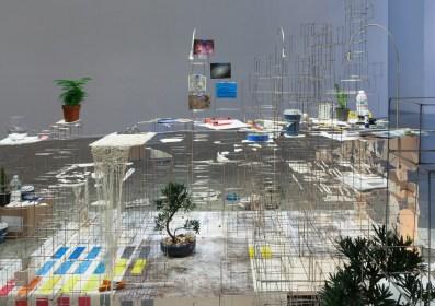 Installation view, Still Life with Desk, 2013-2015