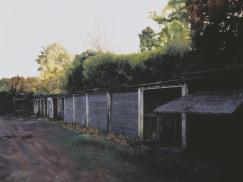 George Shaw: Scenes from the Passion: Late, 2002. Enamel paint on board, 917 x 1215 x 52 mm. Collection: Tate