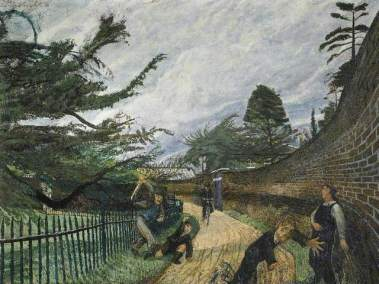 Carel Weight: Fury, 1956. Oil on canvas, 92 x 122 cm. Collection: Herbert Art Gallery & Museum, Coventry