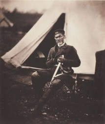 Roger Fenton, Captain Mottram Andrews, 28th Regiment (1st Staffordshire) Regiment of Foot, 1855 © Wilson Centre for Photography