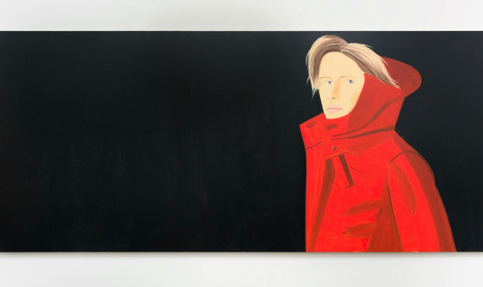 Nicole, 2014, 48 x 108 in. / 121.9 x 274.3 cm, Oil on linen (Timothy Taylor Gallery)