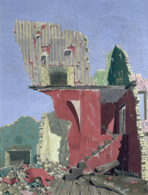 Revelations, 1938 by John Armstrong. Photo: Bridgeman Art Library
