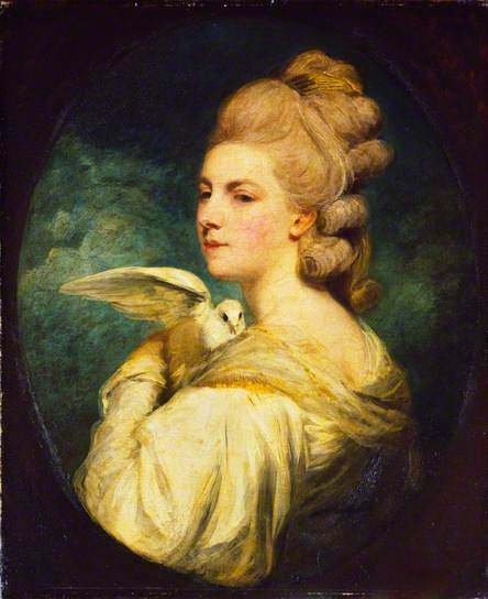 Mrs Mary Nesbitt, 1781. Oil on canvas, 75.5 x 62.5 cm. The Wallace Collection