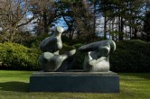 Two Piece Reclining Figure: Points, 1969