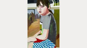 Esme in a Checked Shirt, 2014. Courtesy the artist and Victoria Miro Gallery. © Chantal Joffe