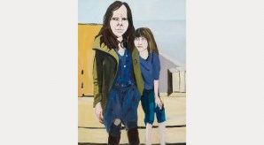 Self-Portrait with Esme in St Leonards, 2014. Courtesy the artist and Victoria Miro Gallery. © Chantal Joffe