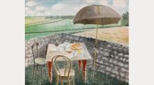 Tea at Furlongs, 1939. The Fry Art Gallery