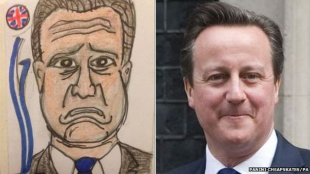Alex and Sian Pratchett's latest creations, including David Cameron, were inspired by the televised leader's debate