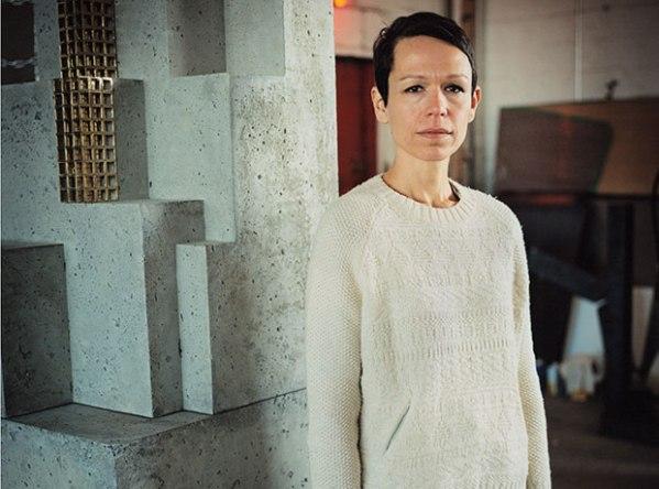 Carol Bove - Photo by Andreas Lazlo Konrath