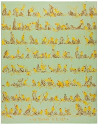 Raha Dikhanaywalay Hai Rahengay (Those who show us the path were there, are here, will be there), 2013. Acrylic on canvas, 190 x 150 cm, 74 3/4 x 59 1/8 in