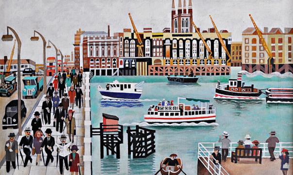 Lost London Bridge, by Alfred Daniels