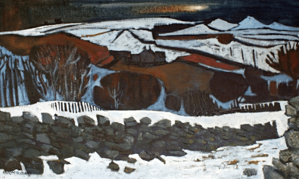 Above Rhostryfan, oil on canvas, 1982. Photograph: Harry Heuser