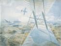 Hurricane in Flight, c1942.