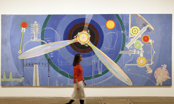 Propeller (Air Pavilion), 1937, at Tate Modern. Photograph: Tim Ireland/AP