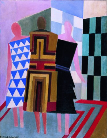 Simultaneous Dresses (The three women), 1925. Museo Thyssen-Bornemisza, Madrid